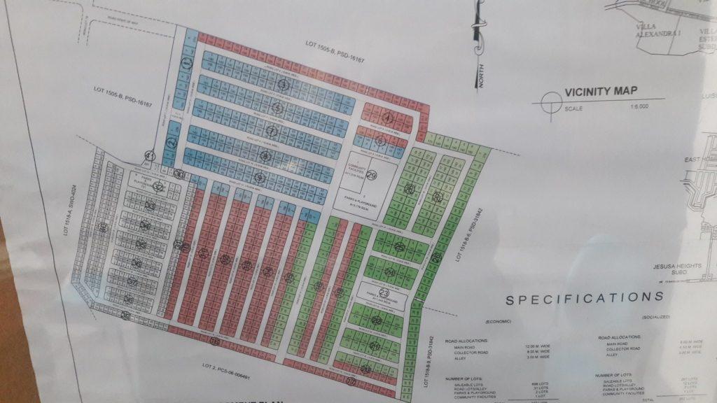 East Villas Map