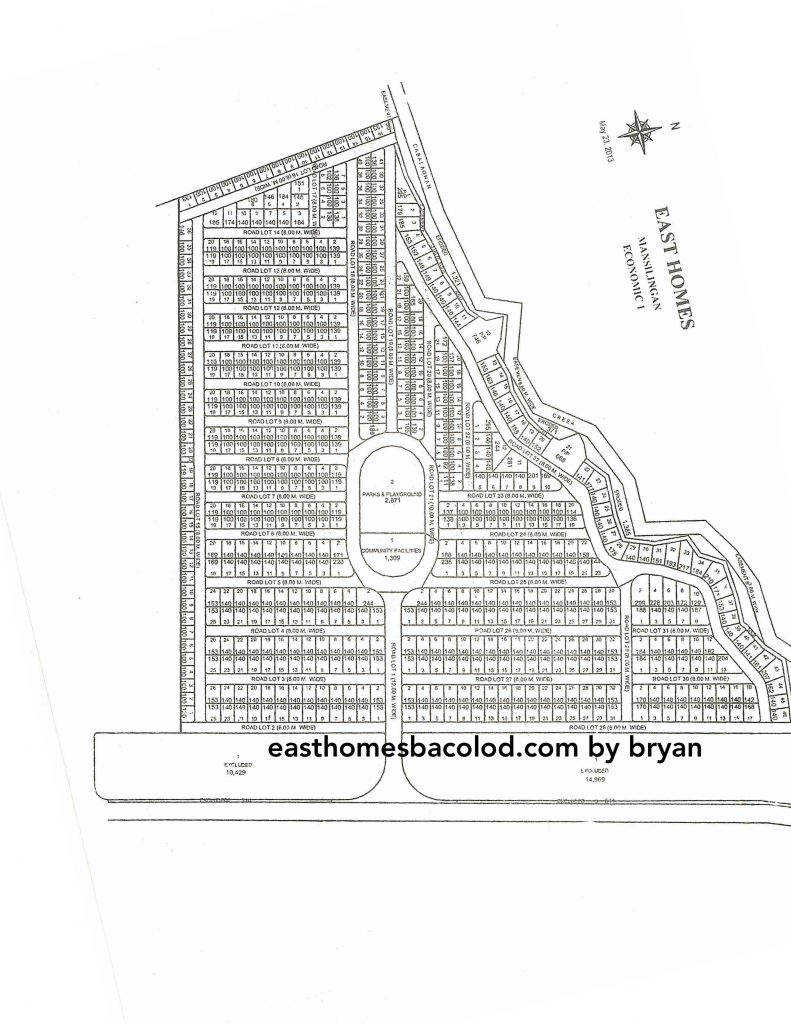 East Homes 4 Map