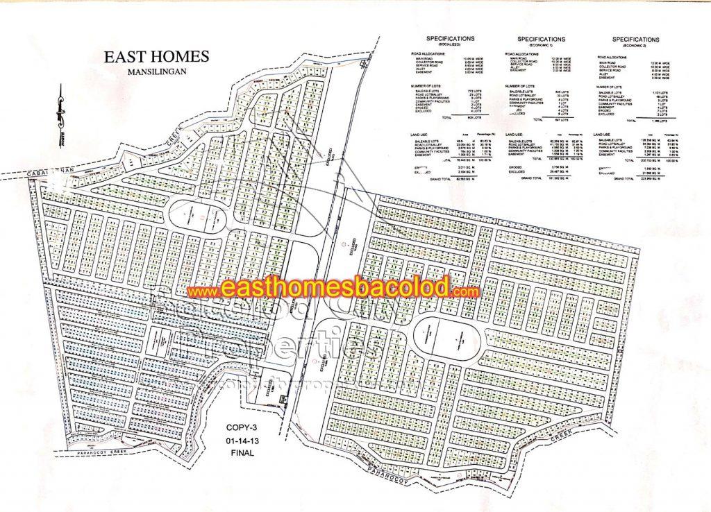 Mansilingan Map of 3 phases